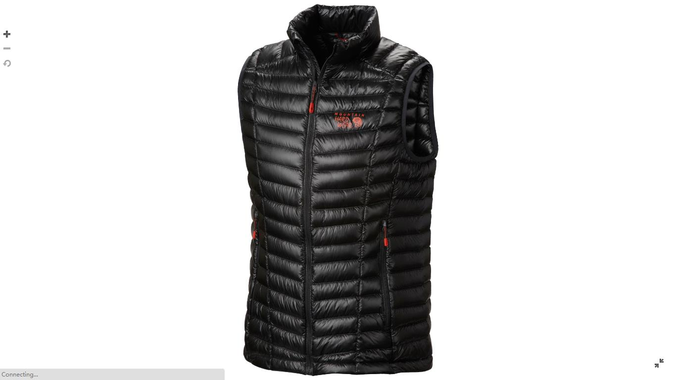 Mountain Hardwear Mens Ghost Whisperer™ Down Vest Shark