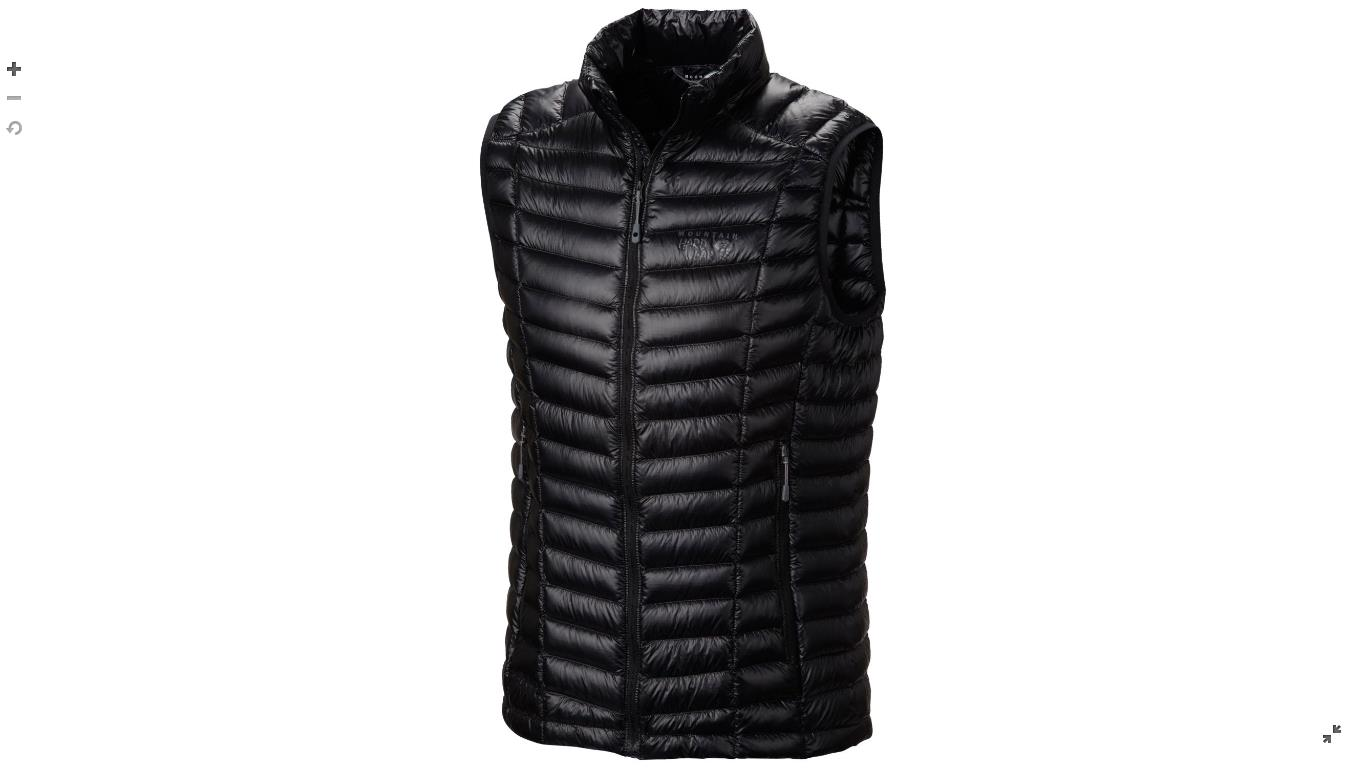 Mountain Hardwear Mens Ghost Whisperer™ Down Vest Black