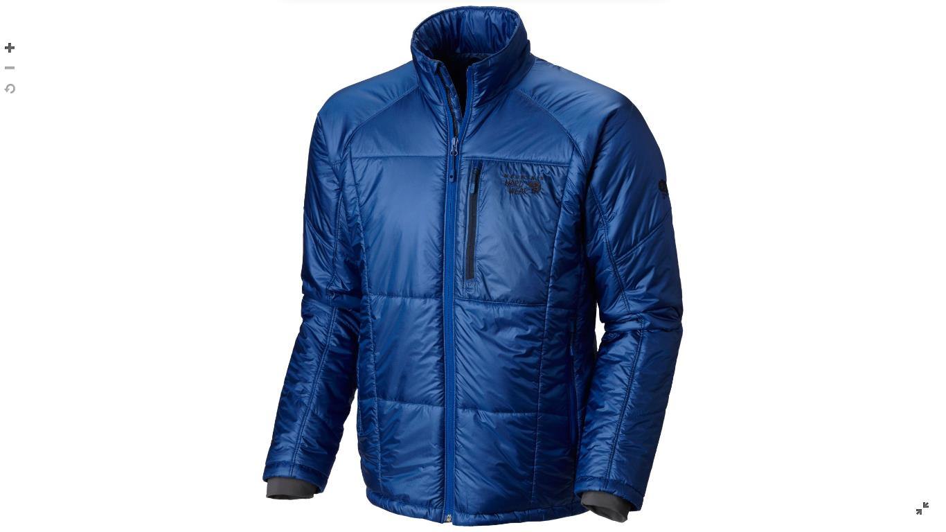 Mountain Hardwear Mens Compressor™ Insulated Jacket Azul