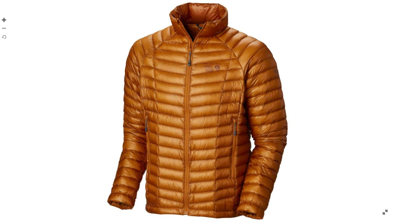 Mountain Hardwear Mens Ghost Whisperer™ Down Jacket Desert Gold