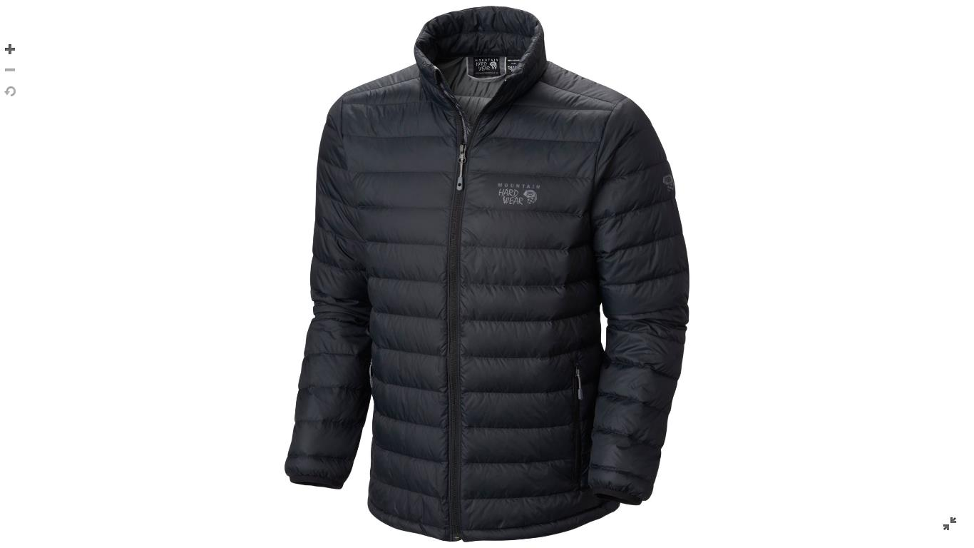 Mountain Hardwear Mens Micro Ratio™ Down Jacket Black