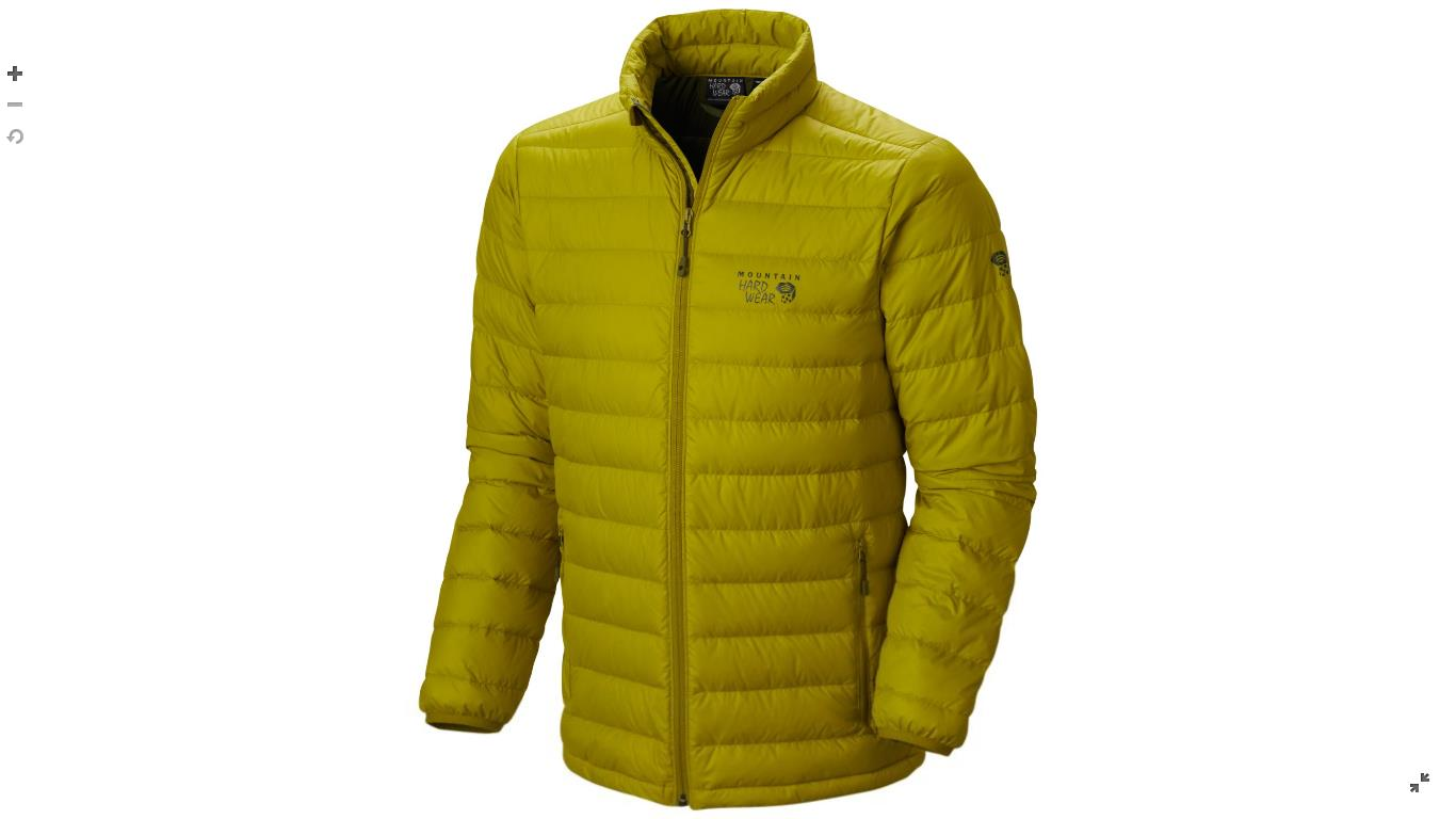 Mountain Hardwear Mens Micro Ratio™ Down Jacket Python Green