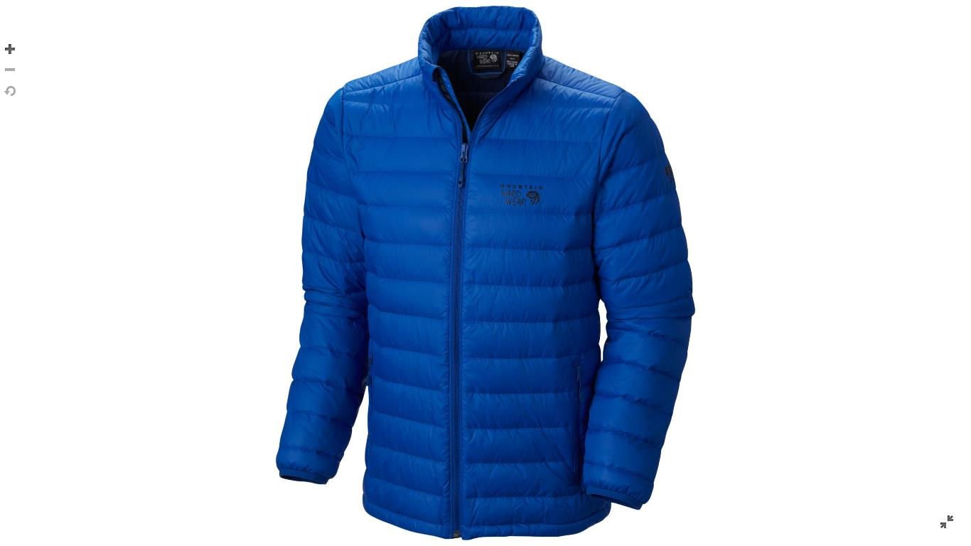 Mountain Hardwear Mens Micro Ratio™ Down Jacket Azul