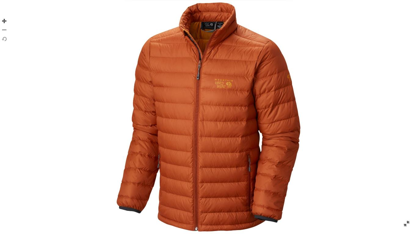 Mountain Hardwear Mens Micro Ratio™ Down Jacket Dark Adobe