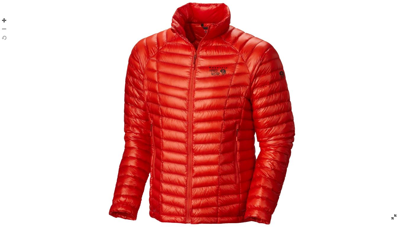 Mountain Hardwear Mens Ghost Whisperer™ Down Jacket State Orange