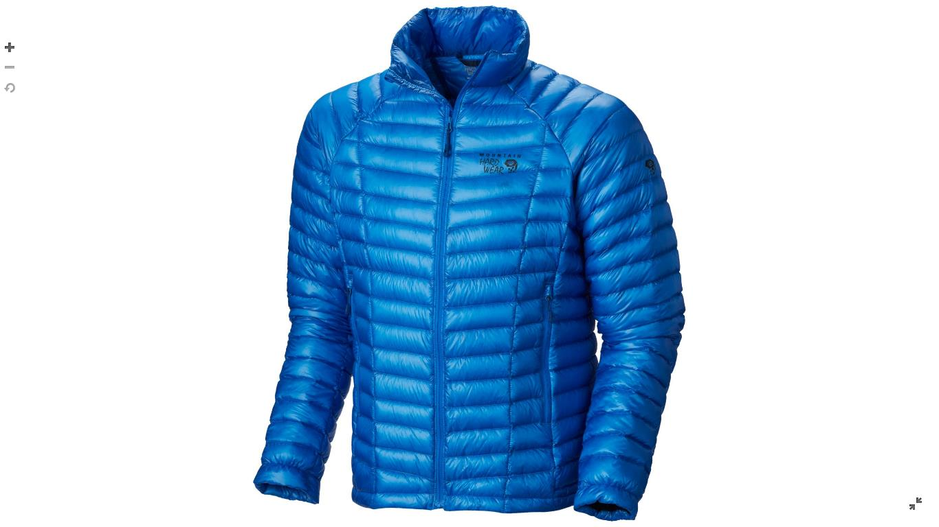 Mountain Hardwear Mens Ghost Whisperer™ Down Jacket Hyper Blue