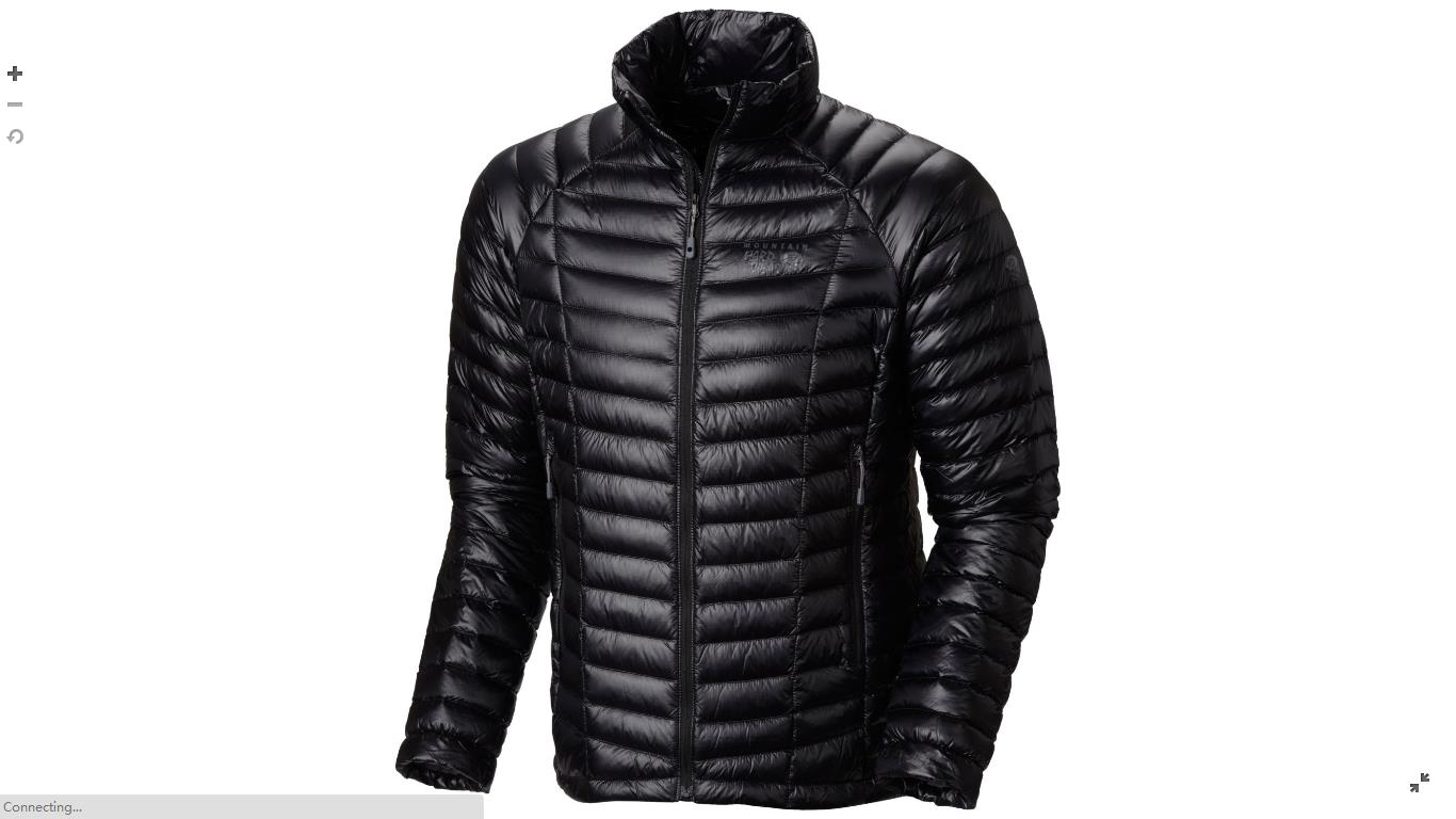 Mountain Hardwear Mens Ghost Whisperer™ Down Jacket Black