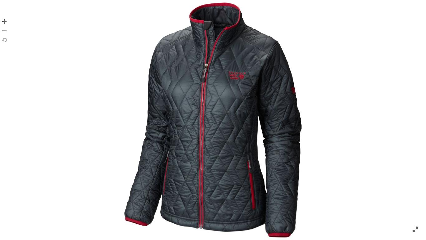 Mountain Hardwear Womens Thermostatic™ Jacket Graphite / Bright Rose