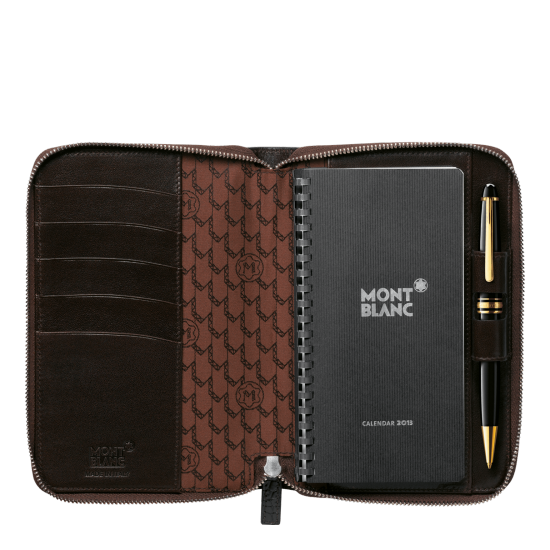 MONT BLANC MEISTERSTCK SELECTION AGENDA SMALL WITH ZIPPER