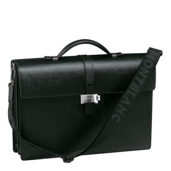 MONT BLANC 4810 WESTSIDE DOUBLE GUSSET BRIEFCASE