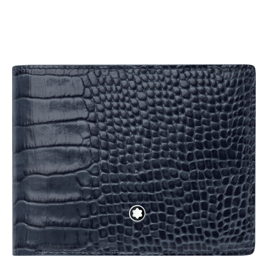 MONT BLANC MEISTERSTCK SELECTION WALLET 6CC WITH REMOVABLE CARD HOLDER