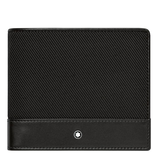 MONT BLANC NIGHTFLIGHT WALLET 4CC WITH COIN CASE
