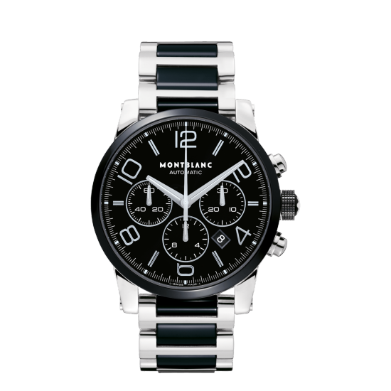 MONT BLANC TIMEWALKER CERAMIC CHRONOGRAPH AUTOMATIC