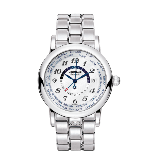 MONT BLANC STAR WORLD-TIME GMT AUTOMATIC