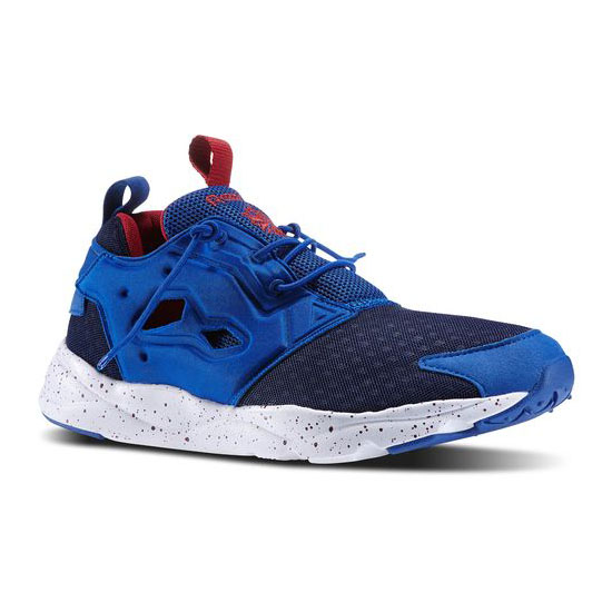 REEBOK MEN'S CLASSICS FURYLITE  Collegiate Royal / White / Bing Cherry / Navy