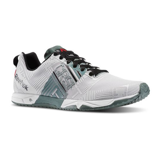 REEBOK MEN'S CROSSFIT REEBOK CROSSFIT SPRINT 2.0 White / Silvery Green / Black