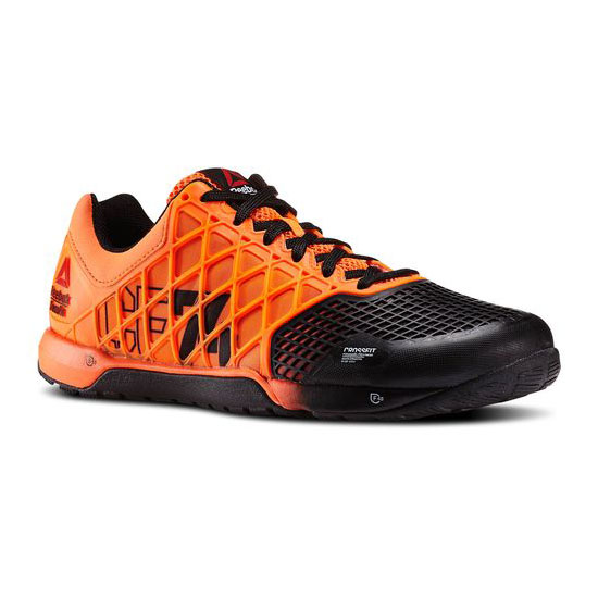 REEBOK MEN'S CROSSFIT REEBOK CROSSFIT NANO 4.0 SOLAR  Solar Orange / Black