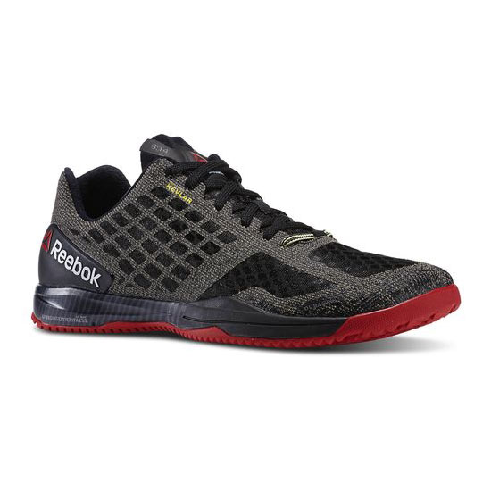 REEBOK MEN'S CROSSFIT REEBOK CROSSFIT COMPETE Black / Excellent Red