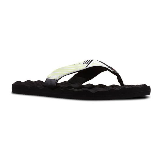 REEBOK WOMEN'S SWIM REEBOK CROSSFIT ADVANCE FLIP  Black / Citrus Glow / White