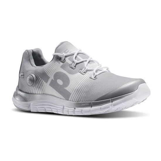 REEBOK WOMEN'S RUNNING REEBOK ZPUMP FUSION Baseball Grey / White