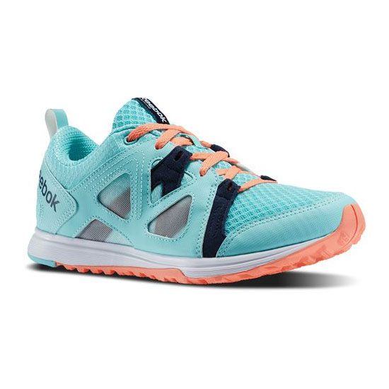 REEBOK WOMEN'S TRAINING TRAIN FAST XT  Crystal Blue / Faux Indigo / Coral / White