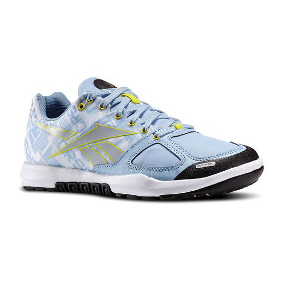REEBOK WOMEN'S CROSSFIT REEBOK CROSSFIT NANO 2.0 Denim Glow / Stinger Yellow / White / Black