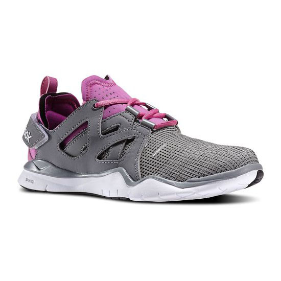 REEBOK WOMEN'S TRAINING REEBOK ZCUT TR  Foggy Grey / Flat Grey / Ultraberry / White / Black