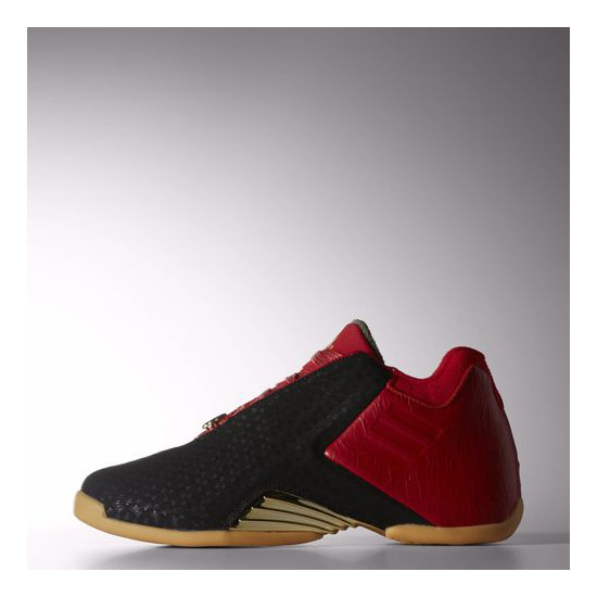 Men's Adidas Basketball T-Mac 3 Shoes Scarlet