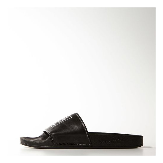 Men's Adidas Originals Neighborhood adilette Slides Core Black