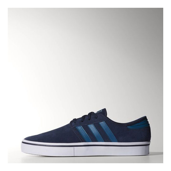 Men's Adidas Originals Seeley ADV Shoes Collegiate Navy / Surf Petrol / Running White