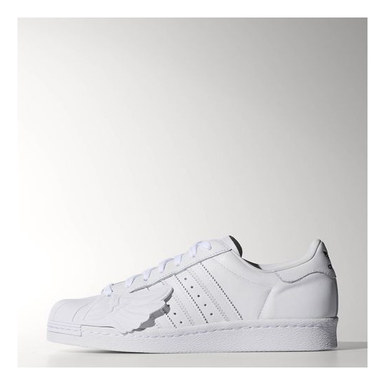 Men's Adidas Originals Superstar Wings Shoes Running White Ftw