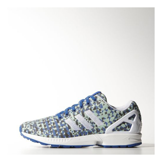 Men's Adidas Originals ZX Flux Weave Shoes Blue