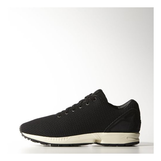 Men's Adidas Originals ZX Flux Shoes Core Black / Black / Running White