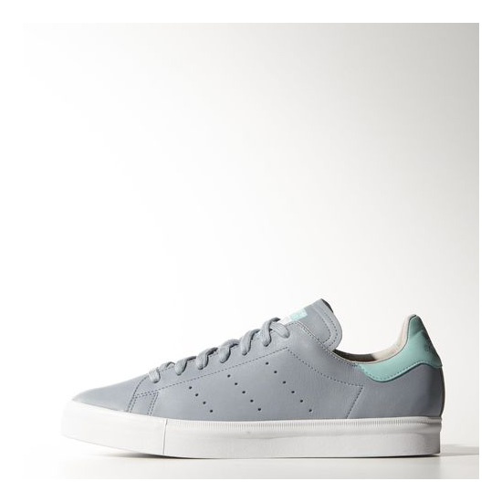 Men's Adidas Originals Stan Smith Vulc Shoes Dust Blue / Dust Blue / Running White