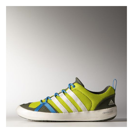 Men's Adidas Outdoor CLIMACOOL BOAT LACE SEMI SOLAR YELLOW / CHALK