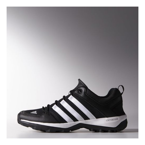 Men's Adidas Outdoor Daroga Plus Shoes BLACK / CHALK WHITE / SEMI S