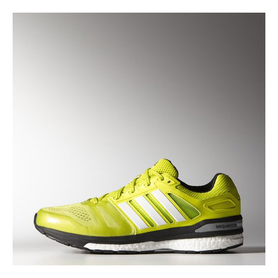 Men's Adidas Running Supernova Sequence Boost 7 Shoes Semi Solar Yellow