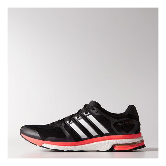 Men's Adidas Running Adistar Boost ESM Shoes Core Black