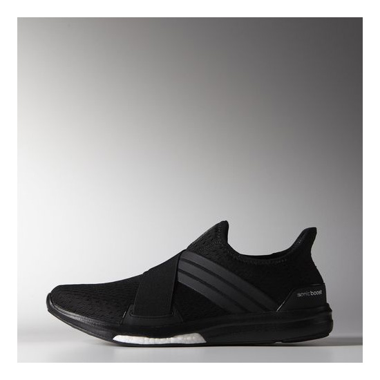 Men's Adidas Running Climachill Sonic Boost Shoes Core Black / Black / Metallic Silver