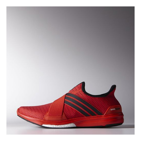 Men's Adidas Running Climachill Sonic Boost Shoes Bright Red / Black / Infrared