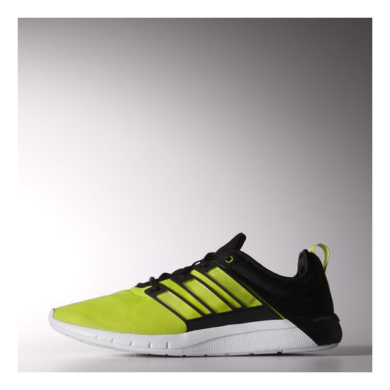 Men's Adidas Running Climacool Leap Shoes Semi Solar Yellow / Black / Running White