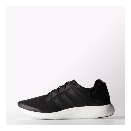 Men's Adidas Running Pure Boost Shoes Core Black