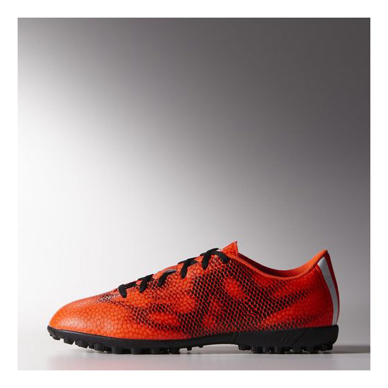 Men's Adidas Soccer F5 TF Shoes Solar Red