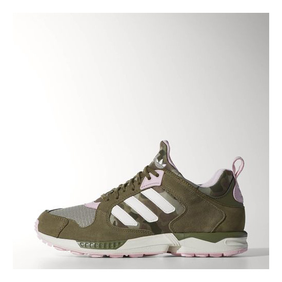 Women's Adidas Originals ZX 5000 RSPN Shoes Olive Cargo