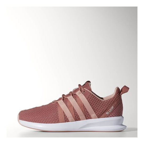 Women's Adidas Originals SL Loop Racer Shoes Ash Pink / Dust Pink / Running White
