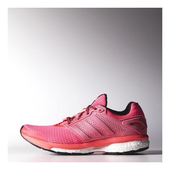 Women's Adidas Running Supernova Glide 7 Shoes Flash Red