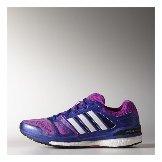 Women's Adidas Running Supernova Sequence Boost 7 Shoes Flash Pink