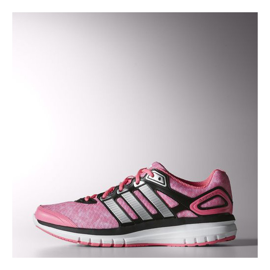 Women's Adidas Running Duramo 6 Shoes Solar Pink / Metallic Silver / Black