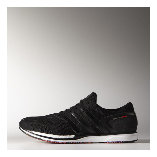 Women's Adidas Running adizero Takumi Sen Boost 3 Shoes Core Black / Black / Running White