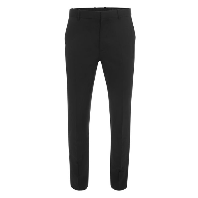 ALEXANDER MCQUEEN WOOL SUIT TROUSERS